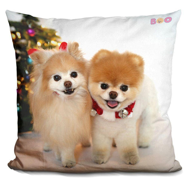 Boo Holiday Buddy And Throw Pillow