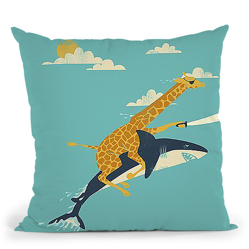 Onward! Throw Pillow By Image Conscious - by all about vibe