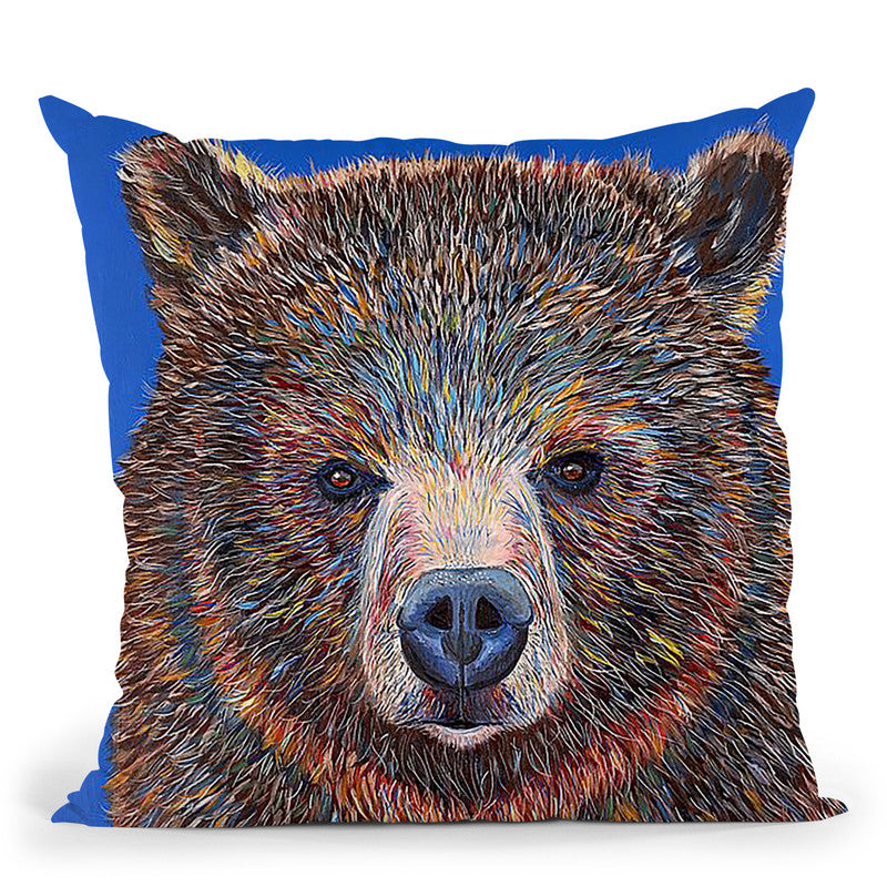 Gus Throw Pillow By Image Conscious - by all about vibe