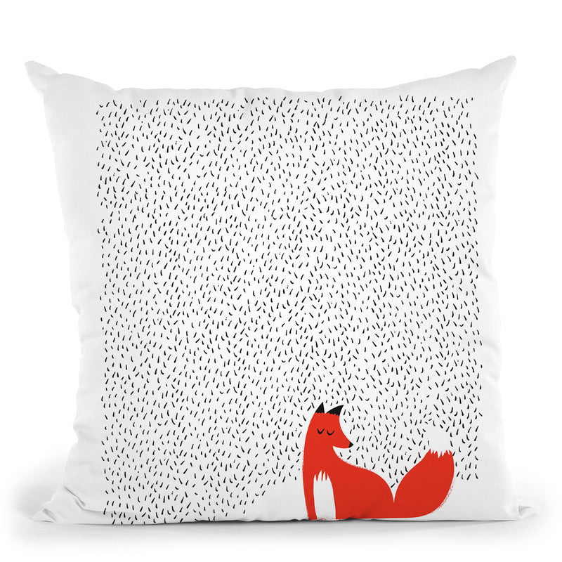 Black Grass Throw Pillow By Image Conscious - by all about vibe