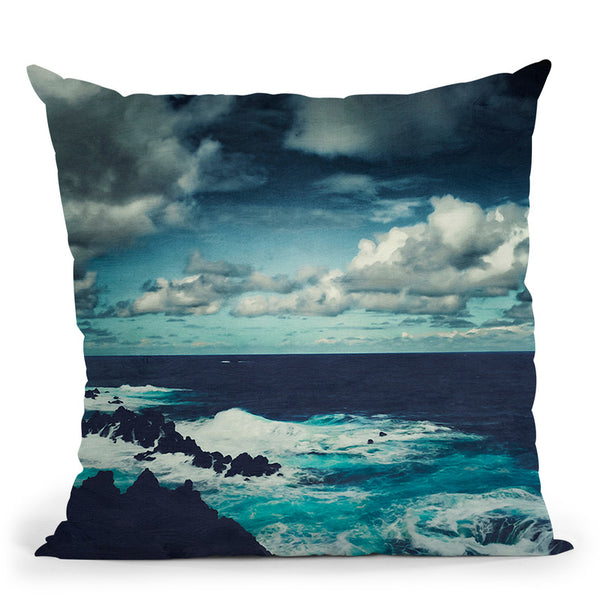 Wild Atlantic Throw Pillow By Image Conscious - by all about vibe