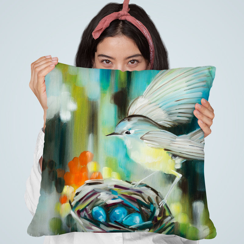 Alight Throw Pillow By Image Conscious
