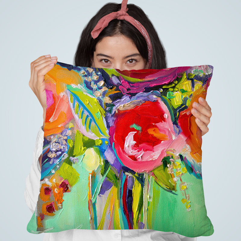 Ode To Summer 1 Throw Pillow By Image Conscious