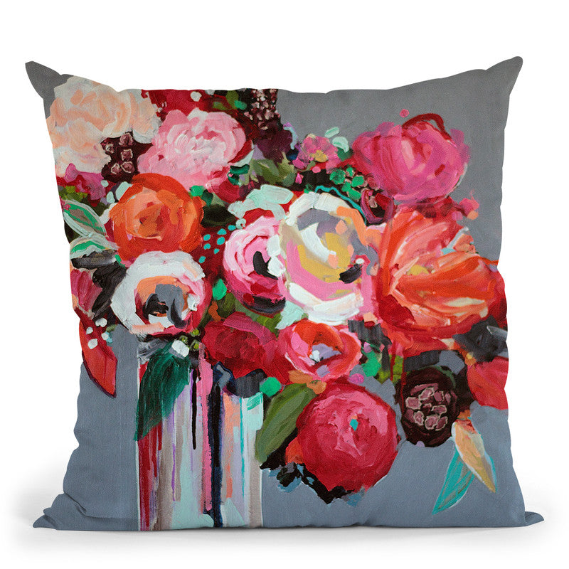Confetti Throw Pillow By Image Conscious