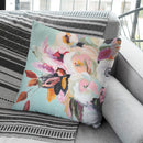 Fall Into Summer Throw Pillow By Image Conscious