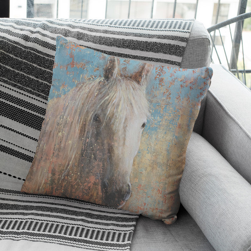 From The Valley Throw Pillow By Image Conscious