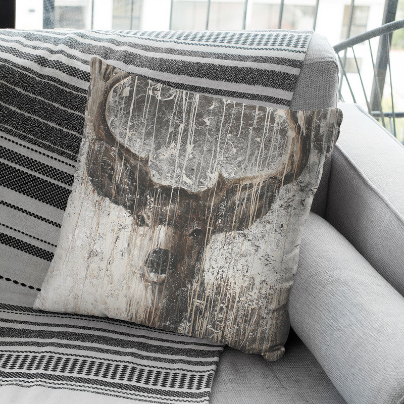 The Patriarch Throw Pillow By Image Conscious