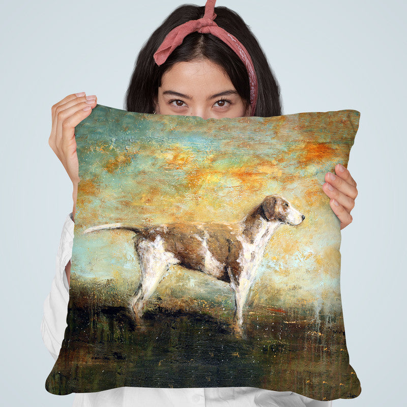 The Wait Throw Pillow By Image Conscious