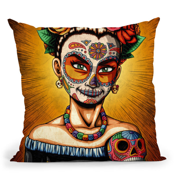 Rita Throw Pillow By Image Conscious - by all about vibe