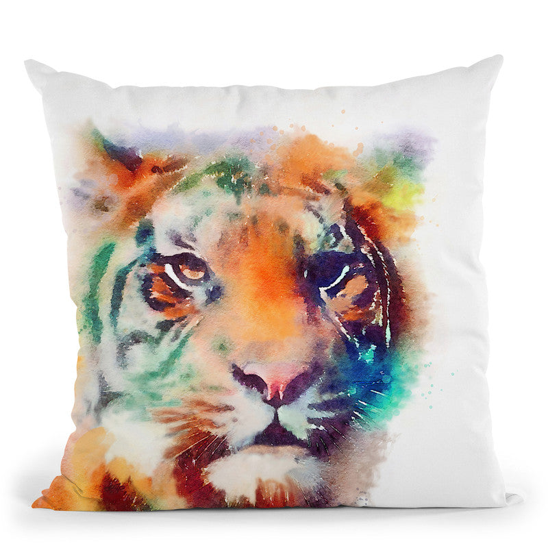 The Elusive Ii Throw Pillow By Image Conscious - by all about vibe