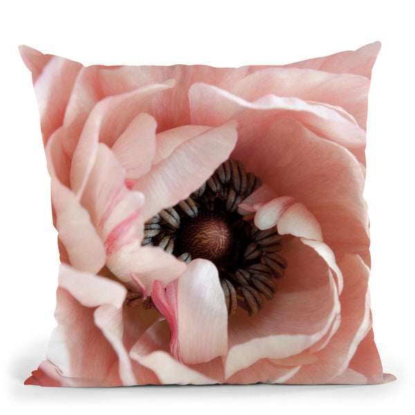 Flower Throw Pillow By Image Conscious - by all about vibe