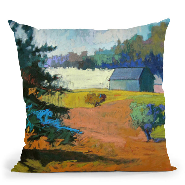 Paysage Cinq Throw Pillow By Image Conscious - by all about vibe