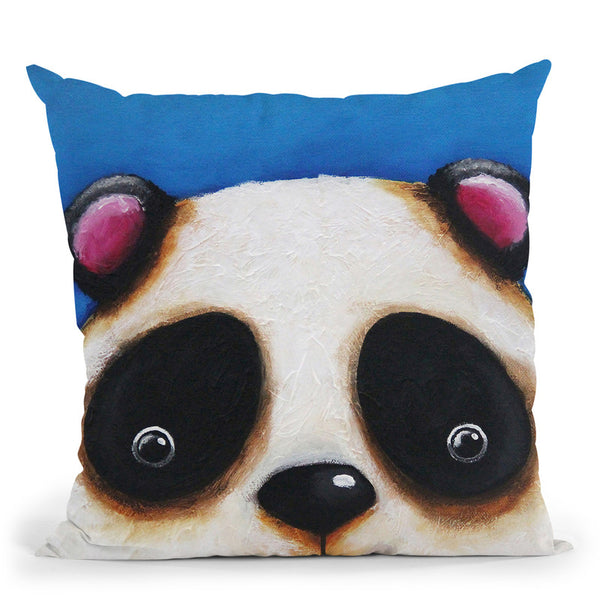 The Panda Bear Throw Pillow By Image Conscious - by all about vibe