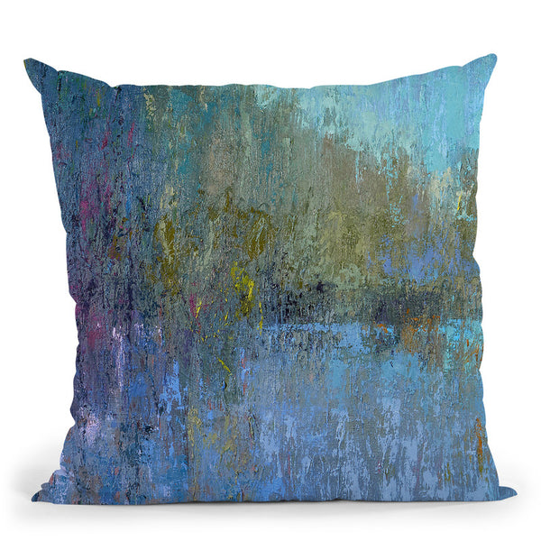 Treescape Two Throw Pillow By Image Conscious - by all about vibe