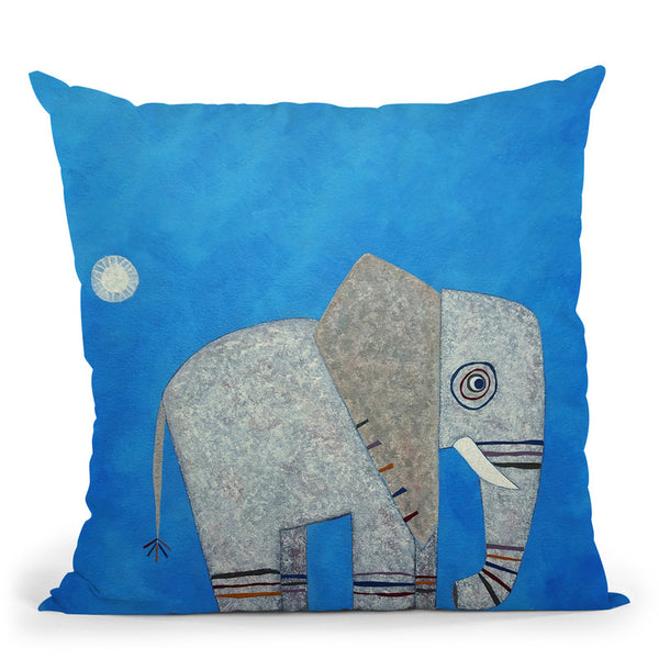 Everything Else Is Irrelephant Throw Pillow By Image Conscious - by all about vibe