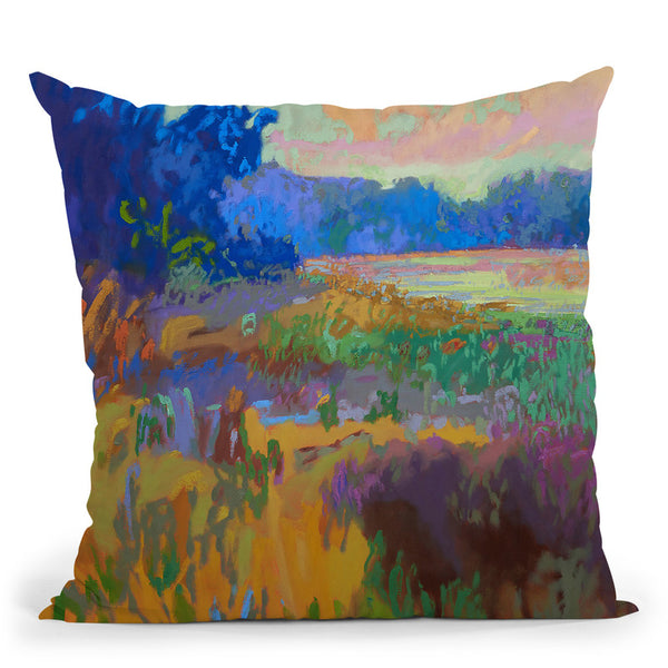 Pastoral Xv Throw Pillow By Image Conscious - by all about vibe