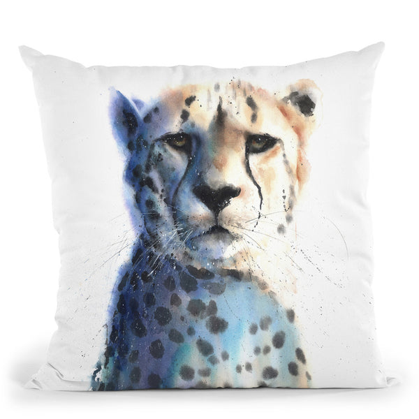 Cheetah Throw Pillow By Image Conscious - by all about vibe