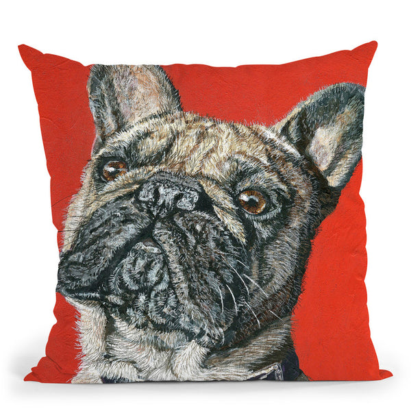 Amour Throw Pillow By Image Conscious - by all about vibe