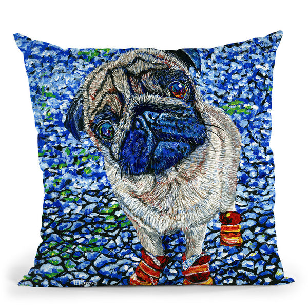 Boots Throw Pillow By Image Conscious - by all about vibe