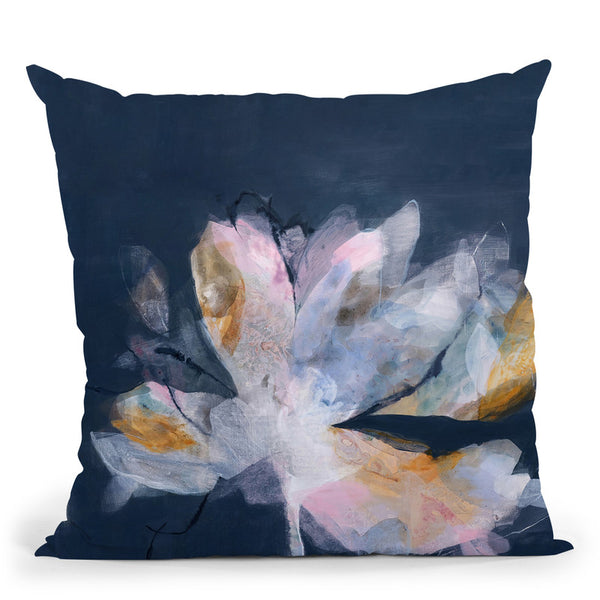 Magnolia Gloaming No 2 Throw Pillow By Image Conscious - by all about vibe