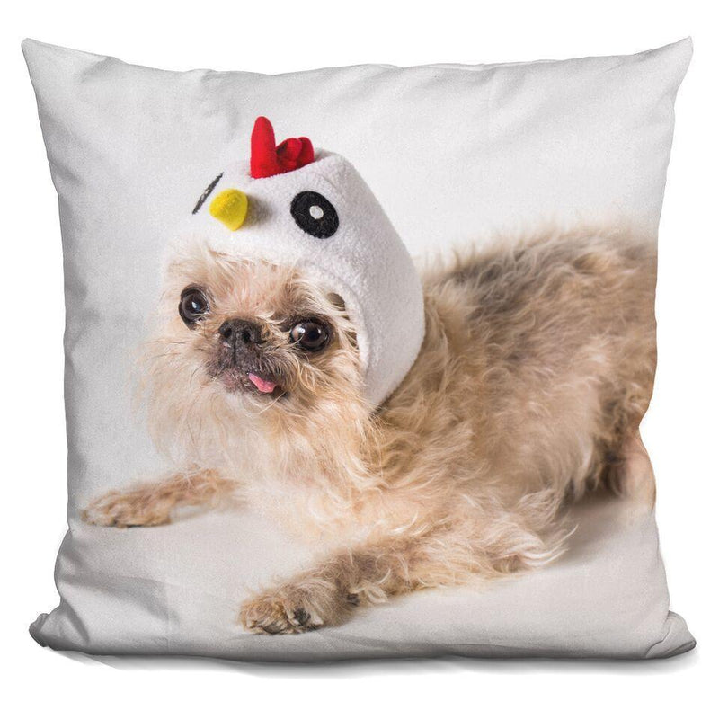 Chicken 'Owen' Square Pillow