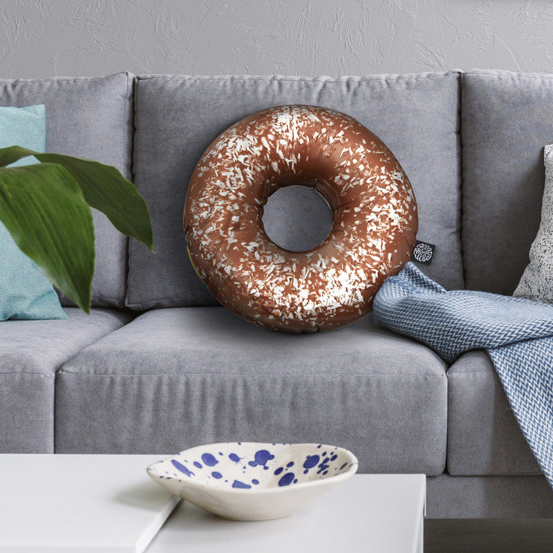 Donut I Throw Pillow By All About Vibe