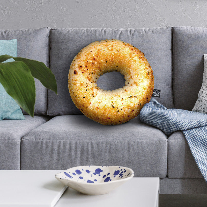 Bagel Ii Throw Pillow By All About Vibe