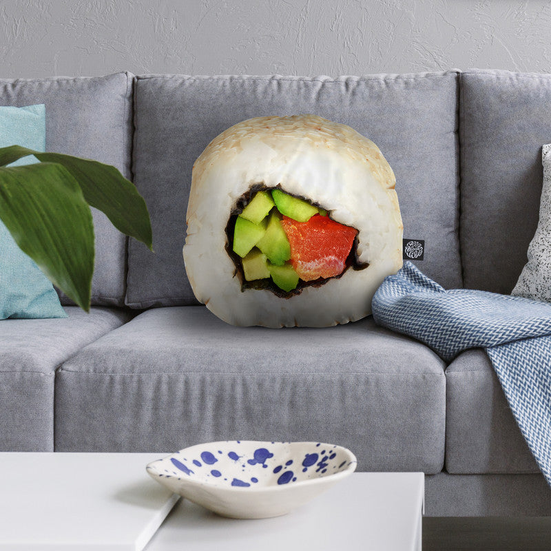 Sushi Iii Throw Pillow By All About Vibe