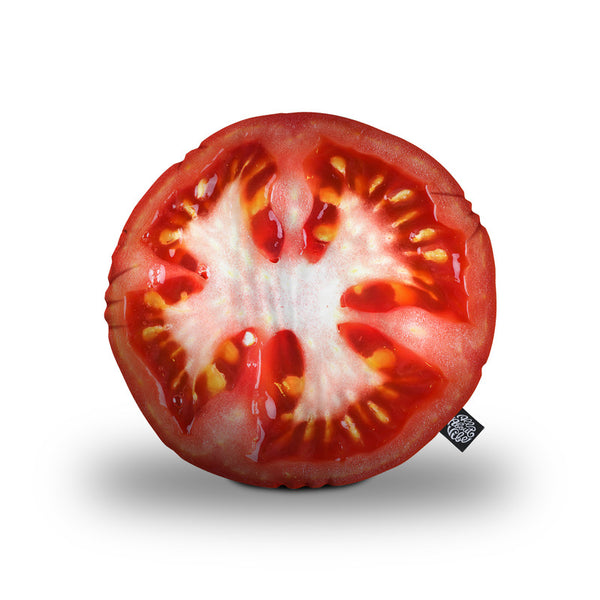 Tomato Throw Pillow By All About Vibe