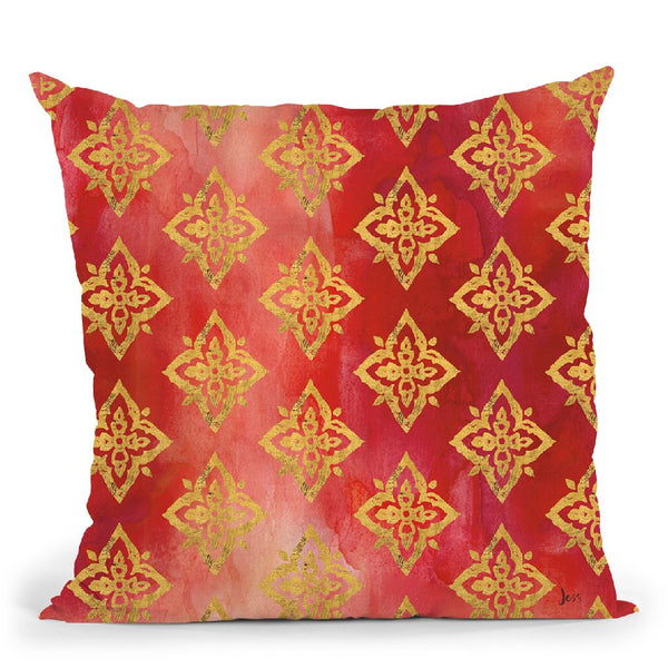 Little Jewels Step 08B Throw Pillow By Jeanette Vertentes