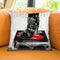Rock And Roll Couture Throw Pillow by Jodi Pedri