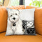 Coco Pup Throw Pillow by Jodi Pedri