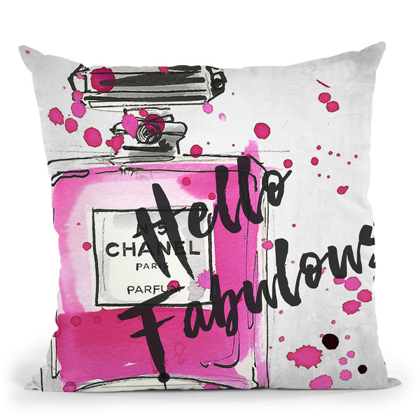 Hello FabulousÊ Throw Pillow by Jodi Pedri