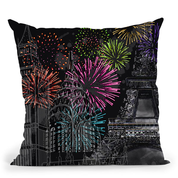 New Day Throw Pillow by Jodi Pedri