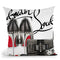 Obsessed Louboutin Throw Pillow by Jodi Pedri