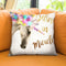 Believe Miracles Throw Pillow by Jodi Pedri