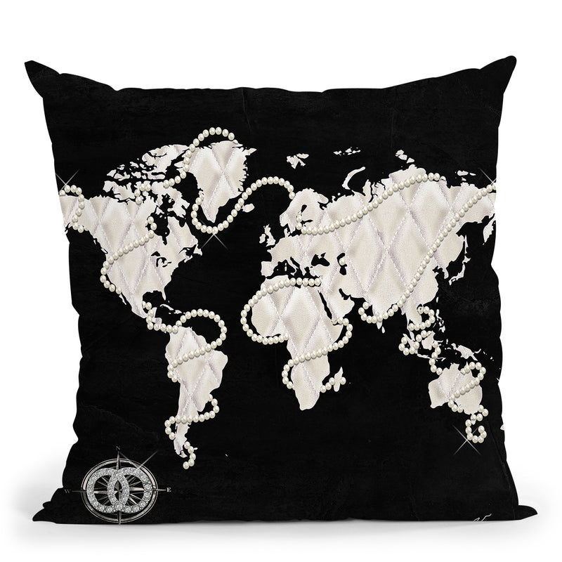 Coco'S World Throw Pillow by Jodi Pedri