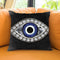 Evil Eye Ii Throw Pillow by Jodi Pedri