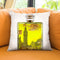 London Perfume Throw Pillow by Jodi Pedri