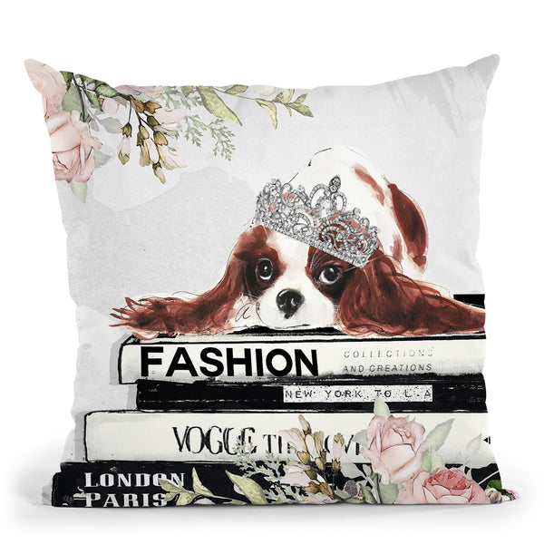Fashion Royality Throw Pillow by Jodi Pedri
