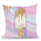Pop Of Glitter Throw Pillow by Jodi Pedri