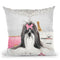 Pretty In Pink Throw Pillow by Jodi Pedri