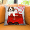 Ready To Go Throw Pillow by Jodi Pedri