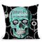 Diamond Digger Throw Pillow by Jodi Pedri