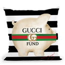 Designer Fund Throw Pillow by Jodi Pedri