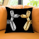 First Kiss Throw Pillow by Jodi Pedri