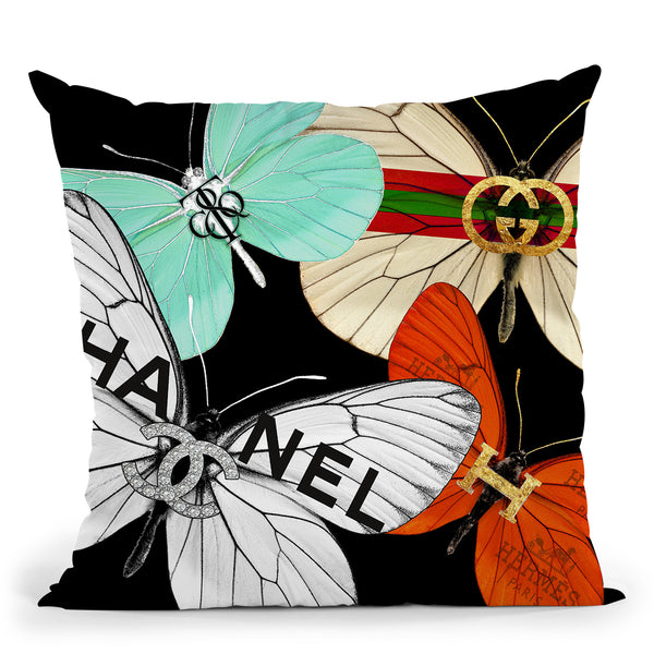 Fly Couture Throw Pillow by Jodi Pedri