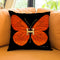 Fly Like Butterfly H Throw Pillow by Jodi Pedri