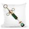 Shot Of Coffeine Throw Pillow by Jodi Pedri