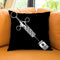 Shot Of Designer D Black Throw Pillow by Jodi Pedri